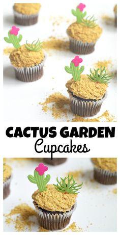 Cactus Garden Cupcak