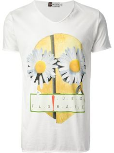 Rienderien Daisy Print T-Shirt