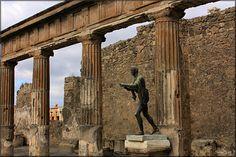 The Temple of Apollo Pompeii, Italy