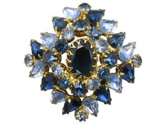 Vintage Brooches! Givenchy, Judith Jack, Swarovski & More! Pearls and Logos and Enameling and Rhinestones and Chunky - Stuff4uand4u loves to show and tell all the best features of Brooches! We sell...