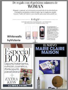WhiteWalls byVictoria: Avance regalos revistas mayo 2017