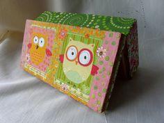 Owl Jewelry Box Girls Wooden Jewelry Box Owl by TwoCatsAndAnOwl