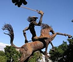 Don Quixote sculpture. | Don Quixote | Pinterest