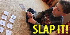 """Kids Flash Card Game - """"Slap It!"""""""