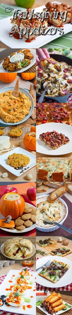 Thanksgiving Appetizer Recipes. - The appetizers or hors d oeuvres, are always one of my favourite parts of planning Thanksgiving