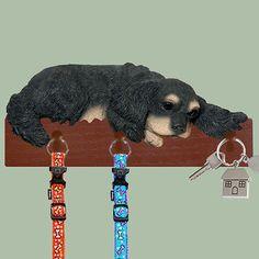 Cavalier King Black Tan Charles Dog Leash Holder Wall Peg Hook Hanger Rack   eBay