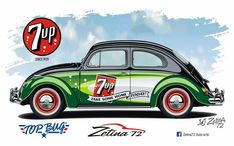 Classic Car News – Classic Car News Pics And Videos From Around The World Race Car Track, Cool Car Drawings, Volkswagen Group, Vw Cars, Custom Vans, Car Painting, Small Cars, Vw Beetles, Cool Cars