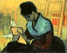 Titulo de la imágen Vincent Van Gogh - La lectora de novela