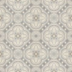 not a fan of cement tile, but this pattern would be gorgeous on a powder room floor