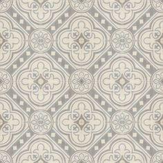 Moroccan Encaustic Cement Pattern Grey Tile gr16