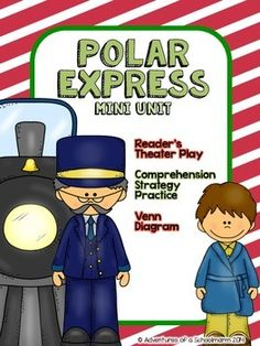 "This FOREVER FREEBIE includes: * Reader's Theater version of The Polar Express by Chris Van Allsburg * Making Inferences worksheet * Venn Diagram (compare and contrast movie and book) * Word Builder (build words from ""polar express"")"