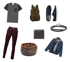 """""""Just for Men 👽"""" by iratze0407 on Polyvore featuring Billabong, Uniqlo, Tod's, Original Penguin, Prada, men's fashion and menswear"""
