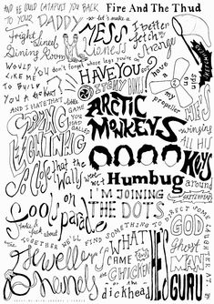 Arctic Monkeys Humbug Artwork