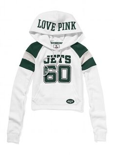 New York Jets Shrunken Pullover Hoodie - Victoria's Secret PINK®