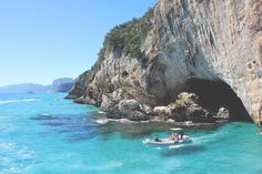 Places to see in ( Sardinia - Italy ) Sardinia is a large Italian island in the Mediterranean Sea. Sardinia has nearly of coastline, sandy beaches an. Beautiful Islands, Beautiful Beaches, Road Trip, The Perfect Getaway, Hiking Trails, Sicily, Italy Travel, Where To Go, Places To See