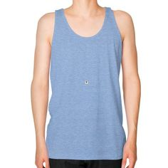 Copy of Unisex Fine Jersey Tank (on man)
