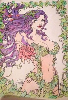 All completed  #art #purple #sexy #elven