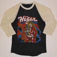 Vintage 1980 Sammy Hagar Concert Shirt. Original tour shirt. Very good pre-owned condition.