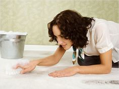 Salt and Rubbing Alcohol: Clean Up a Grease Stain