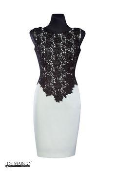 Sukienka szyta na miarę dla mamy wesela. Więcej modowych inspiracji na firmowej stronie De Marco #Dress #sukienka