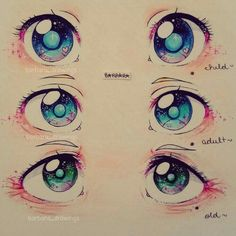 Learn To Draw Manga - Drawing On Demand Manga Eyes, Anime Eyes, Realistic Eye Drawing, Manga Drawing, Figure Drawing, Drawing Skills, Drawing Tips, Drawing Ideas, Art Anime