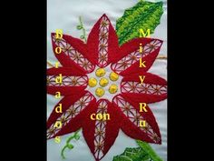 Hand Embroidery Designs   Design for cushion cover   Stitch and Flower-95 - YouTube