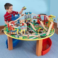 KIDS+CITY+EXPLORER'S+TRAIN+SET