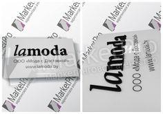Табличка оргстекло с объёмными элементами Lamoda