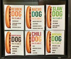 Hot diggity dog a diy hot dog bar free printable hot for Food bar 788