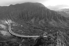 Just one of the awesome views from Haiku Stairs