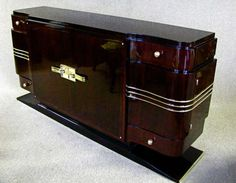 French Art Deco Sideboard Credenza Rosewood Palisander 1935