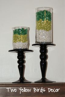 Looking to decorate for the Spring & March season or for St. Get best green DIY St. Patrick's Day Decor Ideas here for this Irish Holiday. St Patrick's Day Decorations, Holiday Centerpieces, Centerpiece Ideas, Diy St Patricks Day Decor, St Patrick's Day Crafts, St Paddys Day, St Pats, Luck Of The Irish, Apothecary Jars