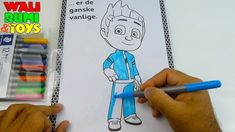 Connor becomes Catboy colouring drawing for kids Drawing Videos For Kids, Play Doh, Colouring, Kids Toys, Eggs, Make It Yourself, Drawings, Disney, Character