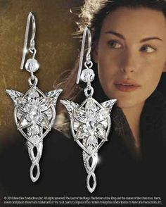 The Arwen™ Evenstar™ Earrings Product Detail WANT!!