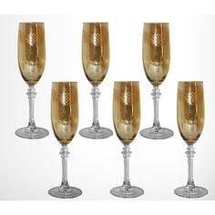 Three Star Im/Ex Inc. Flute/Champagne Glass