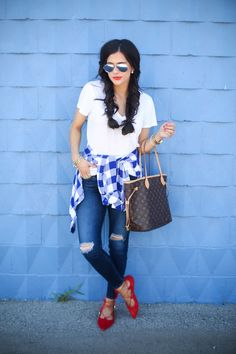 The Sweetest Thing: Laid Back July 4th Outfit