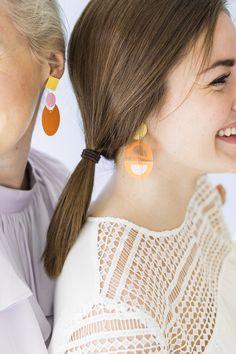DIY Paper Earrings