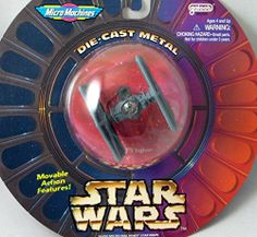 MicroMachines Tie Fighter Die-Cast Star Wars http://www.amazon.com/dp/B0028GXWY0/ref=cm_sw_r_pi_dp_vQpPtb1Y7ZZ765M1