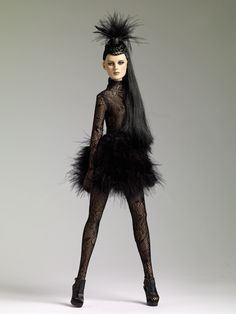 Wild Bird Precarious.    THE FASHION DOLL REVIEW: New items for Tonner's Precarious line