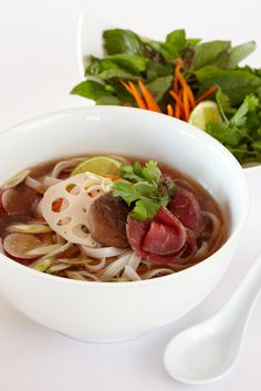 More Vietnamese - yum!  Pho by Blue Plate Catering in Chicago.  Photo by Tyllie Barbosa for BizBash
