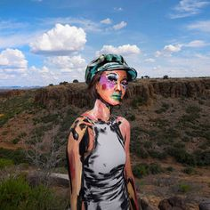 Artist Alexa Meade at FORM Arcosanti