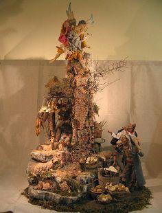 Beautiful Neapolitan Baroque Crèche/Presepe/Nativity Display, via Flickr