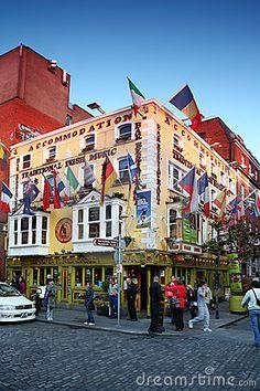 Oliver St. John Gogarty Hotel, Dublin, Ireland.
