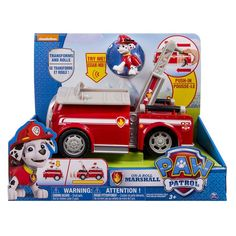 Paw Patrol On-A-Roll Vehicle Marshall image-0