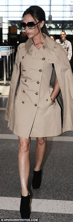 VB in Junya Watanabe Comme des Garçons cape sleeve trench