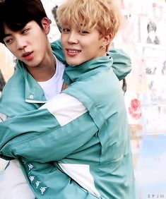 TWO CUTIES #BTS #JIN #JIMIN