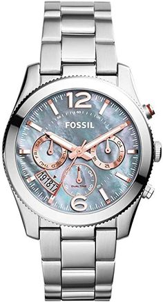 Amazon.com: Fossil Women's ES3880 Stainless Steel Bracelet Watch: Watches
