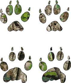awesome Camo Coyote Print Vinyl Sticker Decal hunting paw tracks   Check more at http://harmonisproduction.com/camo-coyote-print-vinyl-sticker-decal-hunting-paw-tracks/