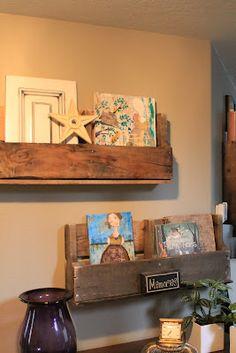 Eco-Chic: Pallet Shelves