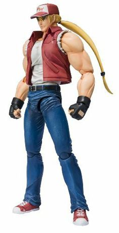 "Bandai Tamashii Nations Terry Bogard ""King of Fighters"" - D-Arts by Bandai Tamashii Nations. $45.38. Interchangeable face and hand parts. Effect parts for special finishing moves. Brand new figure body to recreate signature fighting moves in the most natural form possible. From the Manufacturer                Terry Bogard, the ""Legendary Hungry Wolf"" who has pounded his opponents in every release of the popular ""King of Fighters"" video game series joins the D-Arts action ..."